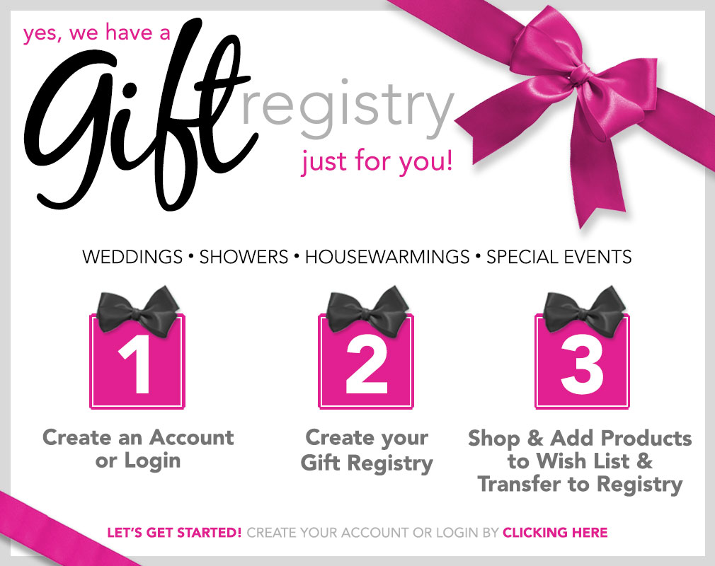 Wedding Gift Registry